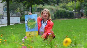 Rita Brandenburg vom Umwelt- und Grünflächenamt